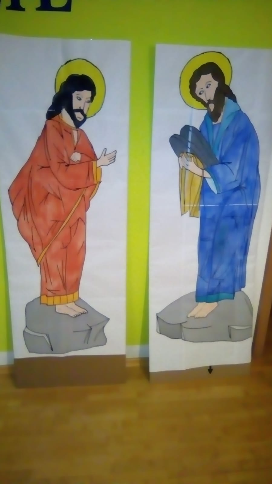 Mose und Elija zur Verklärung Christi, März 2019; Foto: Andreas Häring