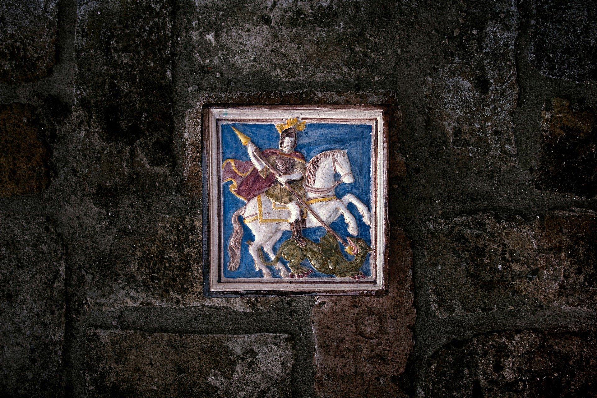 St. Georg – der Drachentöter
